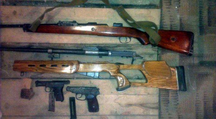 У витеблянина нашли целый арсенал незарегистрированного оружия