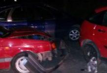 В Гродно во время погони пьяный нарушитель разбил 2 автомобиля