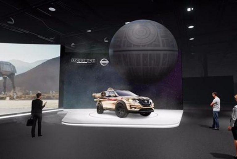 «Звезду смерти» можно будет увидеть на стенде Nissan в Нью-Йорке.