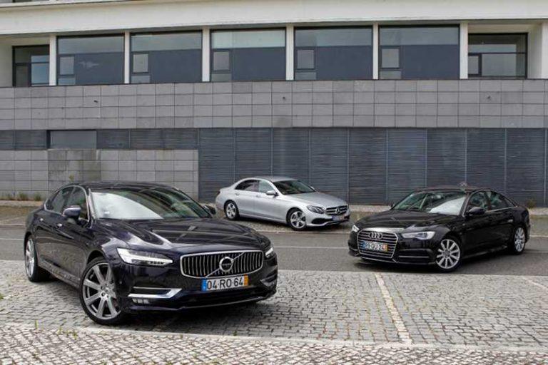 Volvo S90 vs Audi A6 и Mercedes-Benz E: реванш удался?