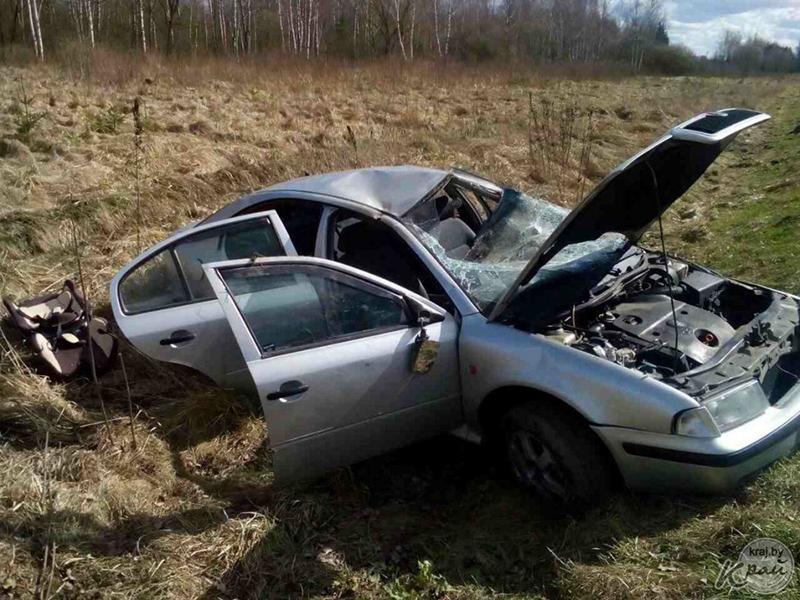Жительница Сморгони сделала двойной перевертыш. Чудом никто не пострадал.