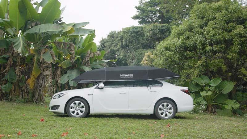 В США создан новый зонт для автомобиля