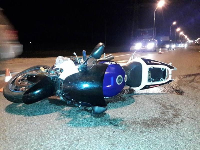НА МКАД погиб мотоциклист. ГАИ ищет очевидцев