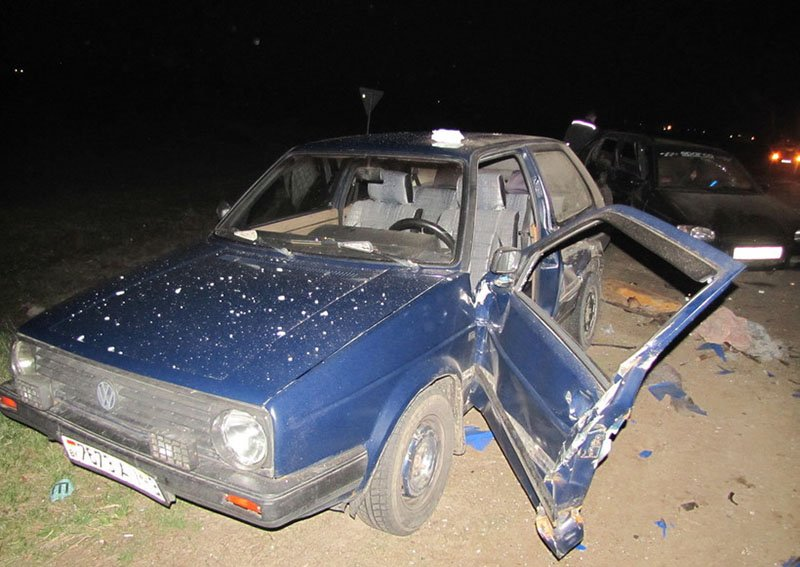 Выезд со второстепенной дороги, привел к аварии
