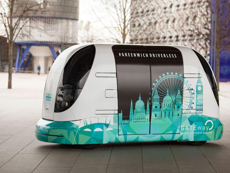 В Великобритании начали тестировать самоуправляемые автомобили