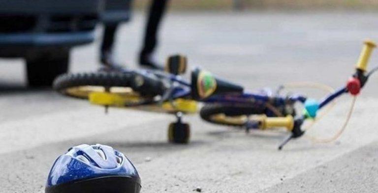 Семилетний велосипедист попал под машину возле Островца