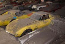 36 спорткаров Corvette буквально пылились в гаражах 26 лет