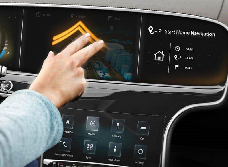 Continental предлагает внедрить в автомобили сенсорно-жестовый интерфейс