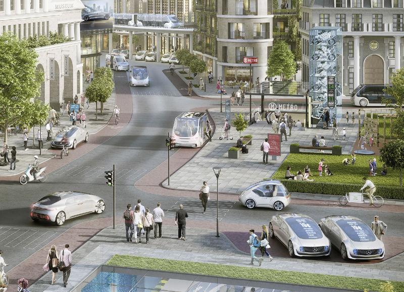 Daimler и Bosch объявили о партнерстве в области беспилотных технологий