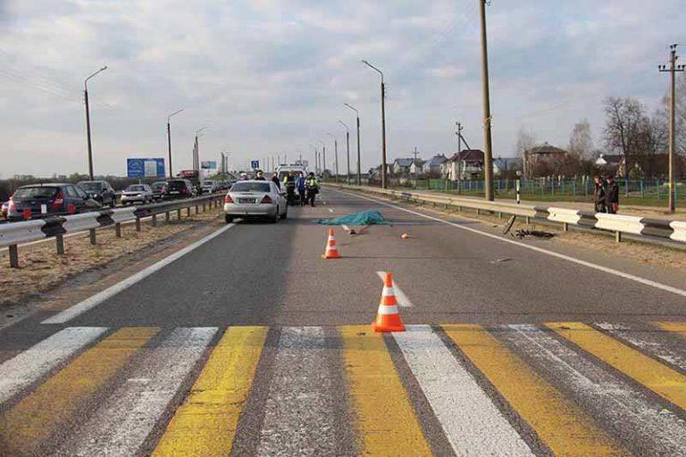 В Гомеле женщина-водитель насмерть сбила пешехода