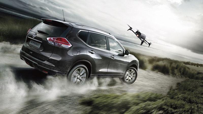 Nissan добавил в комплектацию X-Trail дрон