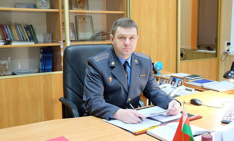 Задержан пьяный начальник Столинского РОВД