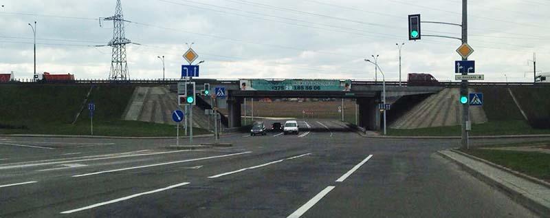 Дополнительные секции светофора появились на пересечении ул. Казинца - ул. Ландера