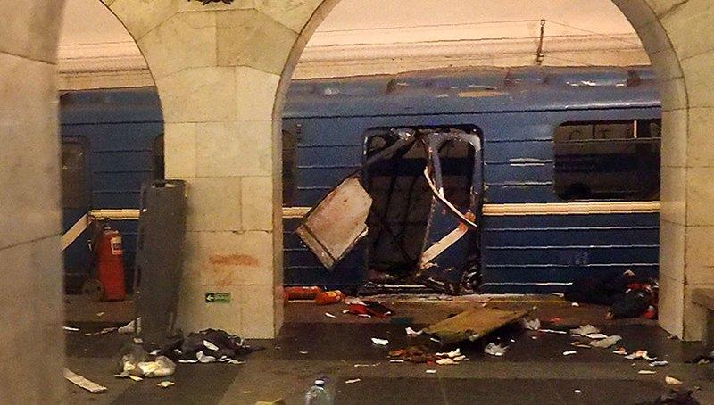 Во время взрыва в Петербурге пострадал гражданин Беларуси.