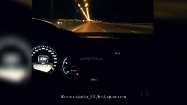 В Москве разыскивают водителя, разогнавшегося на МКАД до 320 км/ч