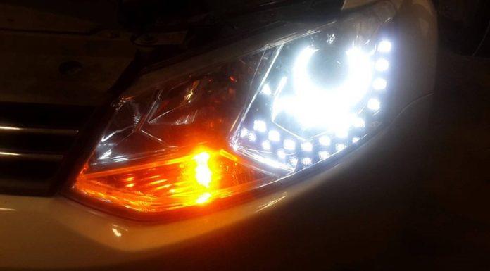 Диодные лампы в поворотниках
