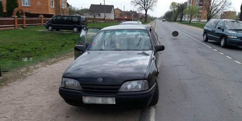 В Столинском районе молодой человек угнал автомобиль своего отца