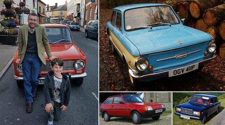 Школьный учитель из Англии собрал коллекцию советских авто