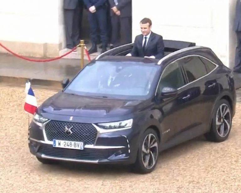 Инаугурация нового президента Франции обошлась без лимузинов