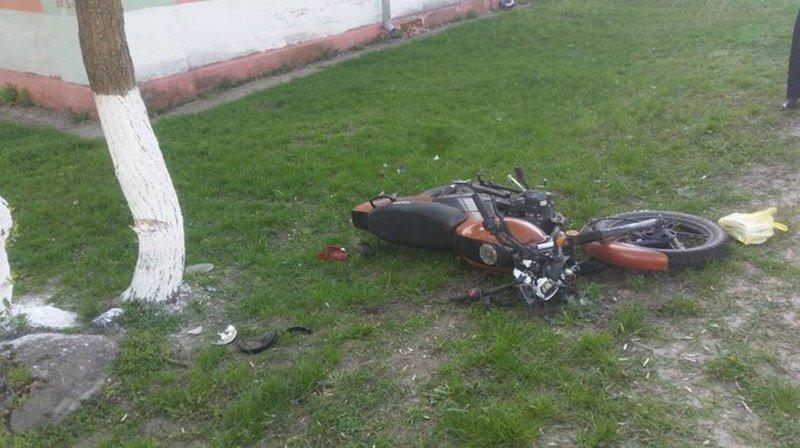 В Мозыре погиб мотоциклист