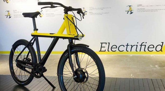 Электровелосипед для мегаполиса от VanMoof