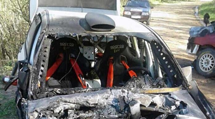 На тренировочных заездах в Псковской области погиб гонщик