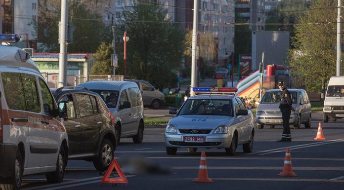 В Минске на улице Нестерова погиб пешеход