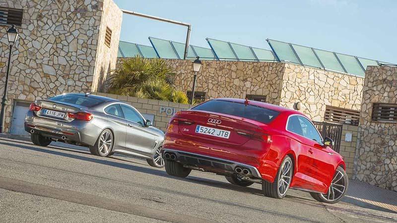Audi S5 Vs Bmw 4 клинки немецкой закалки автопортал Adtby