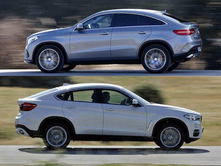 BMW X6 и Mercedes-Benz GLE Coupe: хиппи автомира