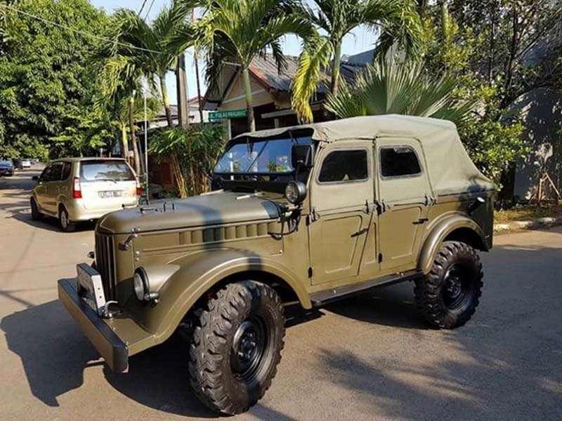 В Индонезии состоялся слет любителей ГАЗ-69