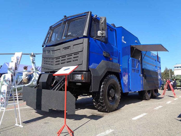 """На выставке """"Milex-2017"""" показали новые пожарные автомобили"""