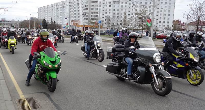 Городской праздник H.O.G. SPRING CHALLENGE прошел в Минске