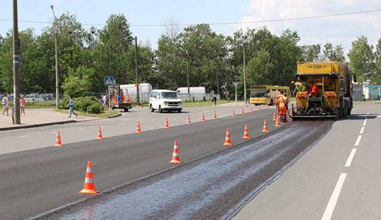 Минские дороги планируется покрыть защитным слоем из стекловолокна