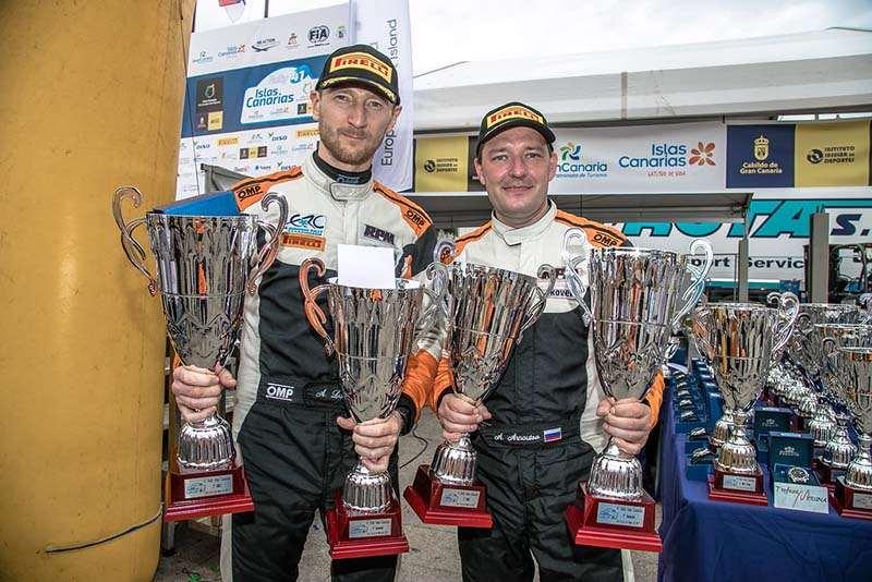 Лукьянюк и Арнаутов выиграли второй этап чемпионата Европы по ралли