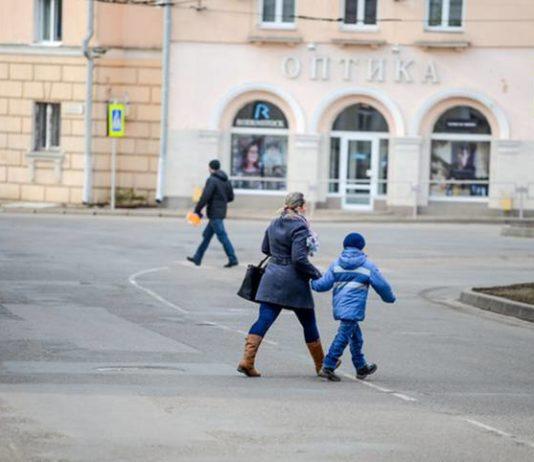 В Витебске мальчик попала в ДТП на пешеходном переходе. Разыскиваются очевидцы.