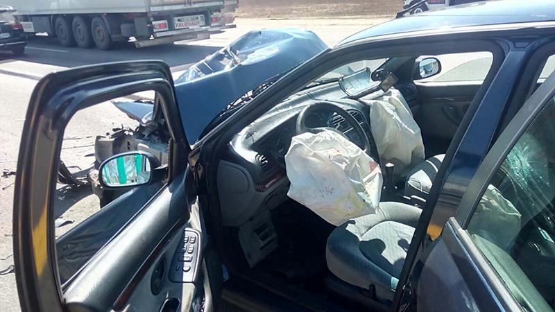 На МКАД снова произошло ДТП с участием автомобиля дорожной службы