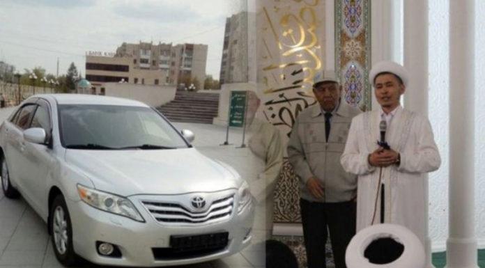 В Казахстане имам подарил уборщице мечети Toyota Camry