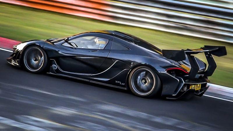 McLaren вновь первый на Нюрбургринге