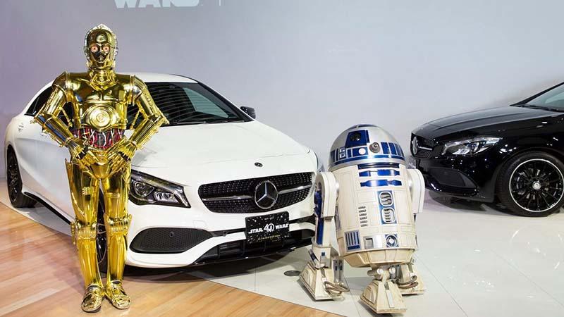 Mercedes выпустит серию, посвященную «Звездным войнам»