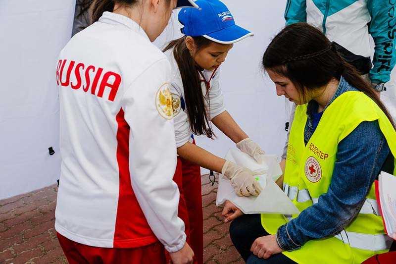 Команда города Минска одержала победу в международном слете-конкурсе отрядов ЮИД