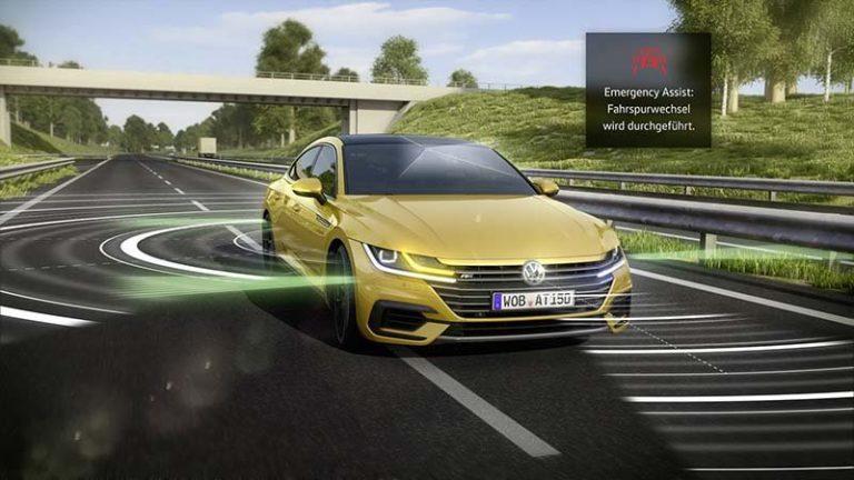 Volkswagen Arteon оснастили автоматической системой, способную предотвратить ДТП