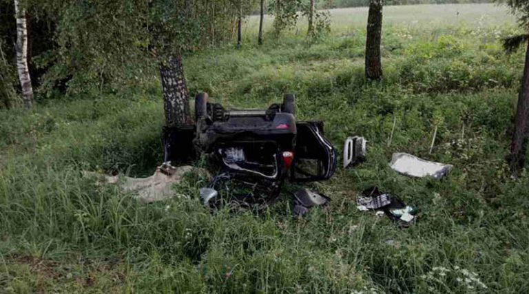 В Полоцком районе в результате ДТП погиб подросток