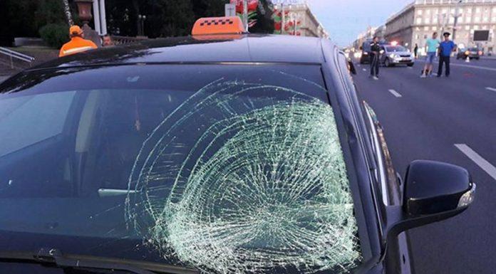 В Минске такси насмерть сбило девушку