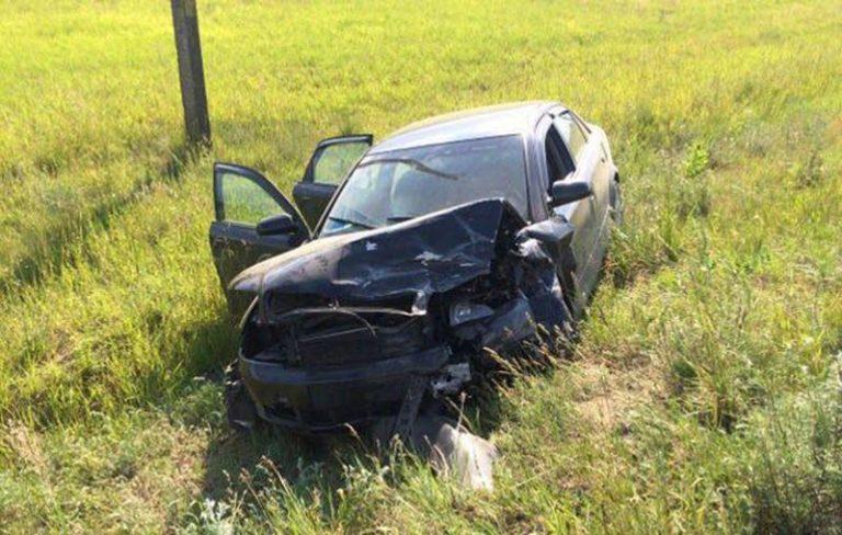 Пьяный водитель «БМВ» толкнулся лоб в лоб с «Ауди»