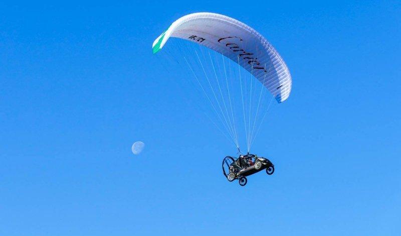 Летающий автомобиль «Пегас» пересек Ла-Манш