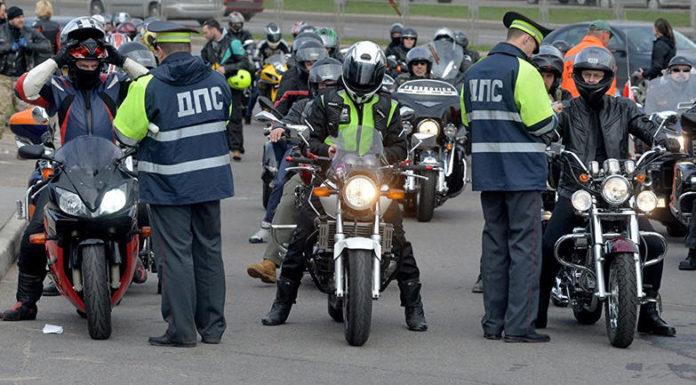 В Минске ГАИ проводит мероприятия по предупреждению нарушений ПДД водителями мототранспорта