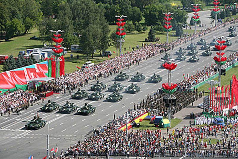 почему небыло парада победы в минске чего