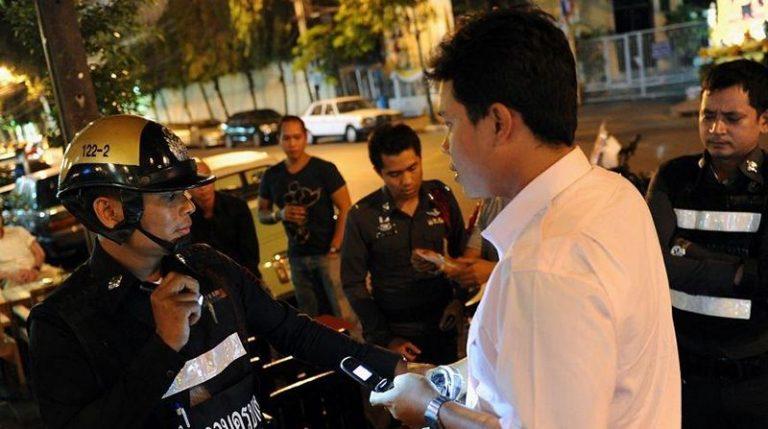 В Тайланде пьяных водителей отправляют в морг