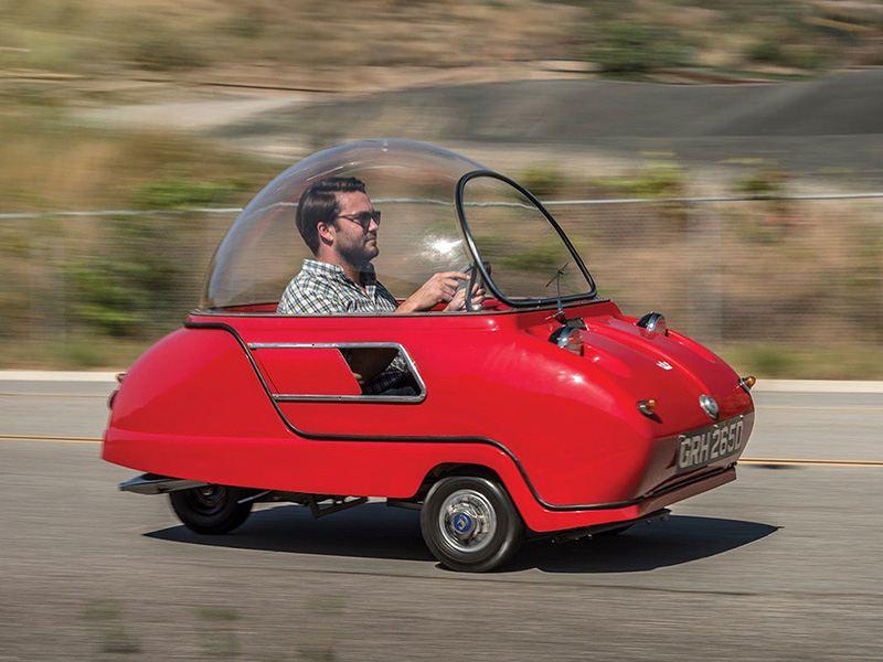 На продажу выставлен самый маленький в мире автомобиль