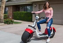 Представлен новый электрический скутер с высокой проходимостью